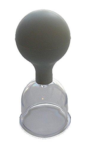 Schröpfkopf mit Gummiball für Massage 50 mm – Leonidov