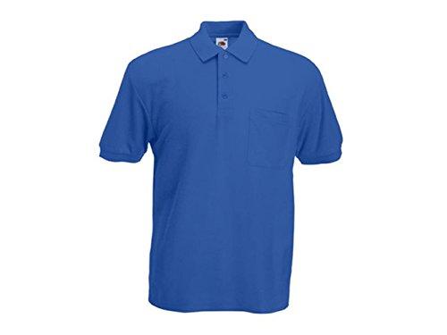 ATELIER DEL RICAMO Herren Poloshirt * Einheitsgröße Königsblau