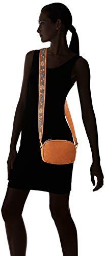 edc by Esprit - 087ca1o001, Borse a spalla Donna Marrone (Rust Brown)