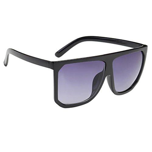 MagiDeal Retrò Occhiali Da Sole Stampa In Legno Specchio Occhi Occhiali Unisex - #6, Taglia Unica