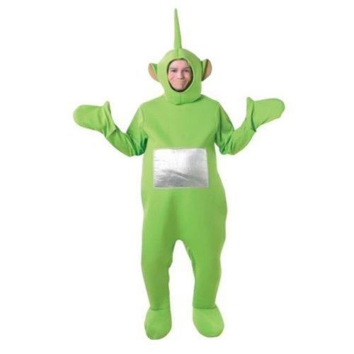 Teletubbies-Kostüm für Erwachsene - Unisex-Einteiler - Rubie's - Grün, Eingeitsgröße ()