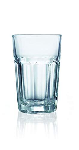 Trinkglas Cocktailglas 0,28 l, 24 STK, Gastronomie-Qualität, 6 Verschiedene Setgrößen erhältlich (6, 12, 18, 24, 30, 36 STK.), Serie Torilla ()