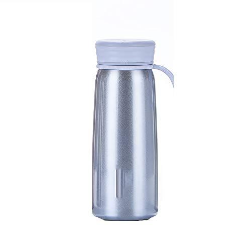YHDQ Outdoor-Freizeit-Isolationstopf, Reise-Vakuum-Wasserflasche/Vakuum-Edelstahl-Isolationstopf, Auto Outdoor-Reisebecher-Royalblue -