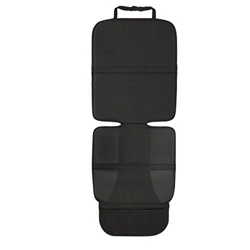 Autositz-Schoner & Auto Kindersitz-Unterlage PREMIUM PROTECT von jatedo / hochwertige Autositzauflage / Sitzschoner & Sitzschutz Auto Kinder / ISOFIX-geeignet / gummierte Unterseite