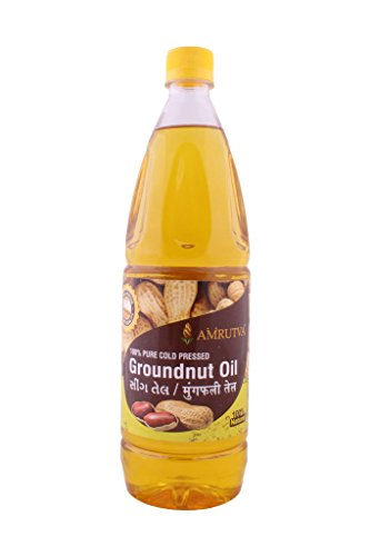 Amrutva Extra Virgin Cold Pressed Groundnut Oil 1 Ltr