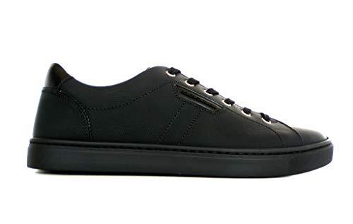 Dolce & Gabbana , Herren Sneaker Schwarz Schwarz, Schwarz - Schwarz - Größe: 43 EU