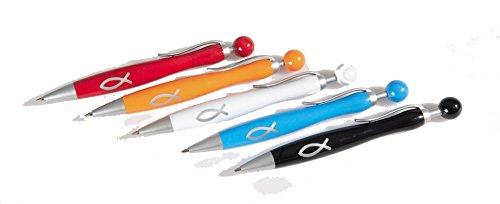 °*4542 einfarbiger Kugelschreiber ROT