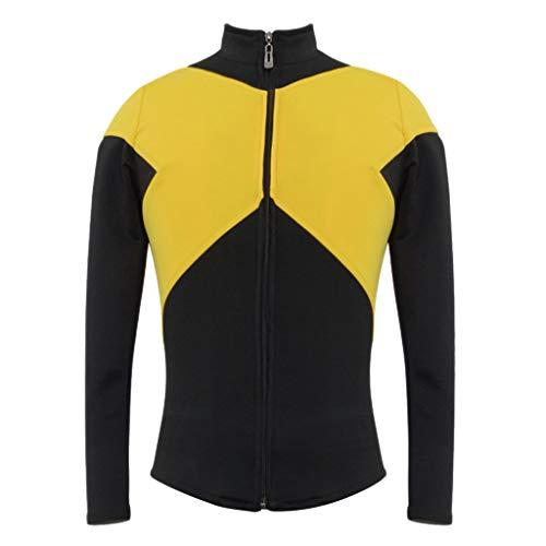 nihiug X-Men Film und Fernsehen Cos Kleidung schwarz Phönix COS Kleidung Cosplay vollen Satz männliche und weibliche Paare, (Phoenix Kostüm Männlich)