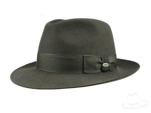 Mayser Homme Chapeau Fedora Atos marron