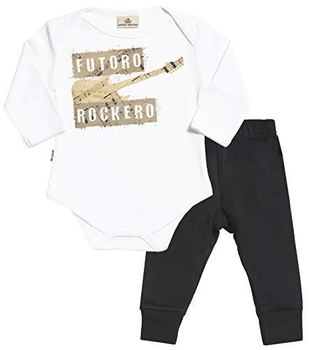 SR - Futuro Rockero Regalo para bebé - Blanco Body para bebés &...