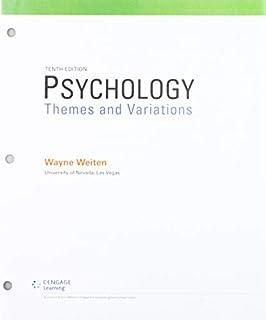 Psychology: Themes & Variations (1305630556) | Amazon price tracker / tracking, Amazon price history charts, Amazon price watches, Amazon price drop alerts