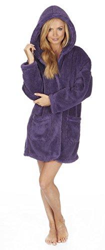 Varsani Clothing - Robe de chambre - Femme Violet