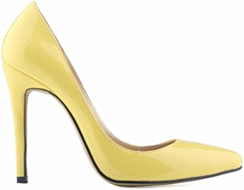 QPYC Mesdames pointues talons hauts couleurs de bonbons femmes simples simples simples chaussures code de tailleB078C7745YParent   Spécial Acheter    Durable En Usage    Belle En Couleurs  2649b1