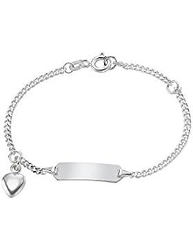 CHRIST Mädchen-I.D.-Armband 925er Silber One Size, silber