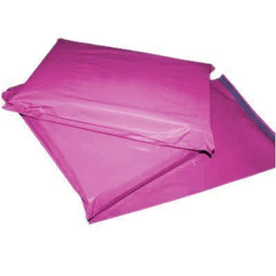 50-x-strong-large-pink-postal-mailing-bags-sacks-12x16