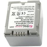 Batterie type PANASONIC CGR-DU06, Haute capacité, 7.2V, 1440mAh, Li-ion