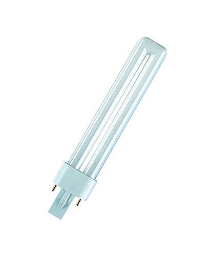 Preisvergleich Produktbild Osram 198860 Kompaktleuchtstofflampe für medizinische und Fertigungszwecke Dulux S 9W/71 BLUE UVA G23