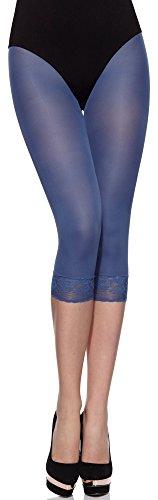 Merry Style Femme Legging corsaire MS 141 50 DEN Jeans