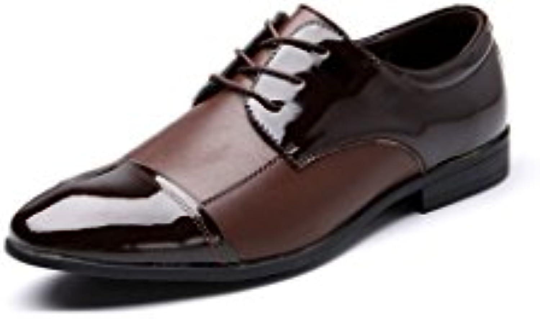 Herren Freizeitschuhe Kleid Schuhe Frühling Herbst Schwarz Braun Peas Lazy Breathable Net Schuhe Oxford