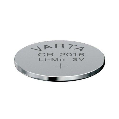 Varta cR 2016 Nickel-Oxyhydroxide (Niox) 3 V non-rechargeable battery - non-rechargeable Batteries (Nickel-Oxyhydroxide (Niox), 3 V, 85 mAh, 20 mm, 20 mm, 1.6 mm)