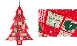Preisvergleich Produktbild Hotex Adventskalender ´Weihnachtsbaum´, aus Stoff 35021