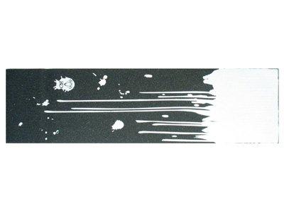 Black Diamond Skateboard Griptape drip