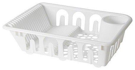 IKEA FLUNDRA Abtropfgestell in weiß; (46x36x12cm)