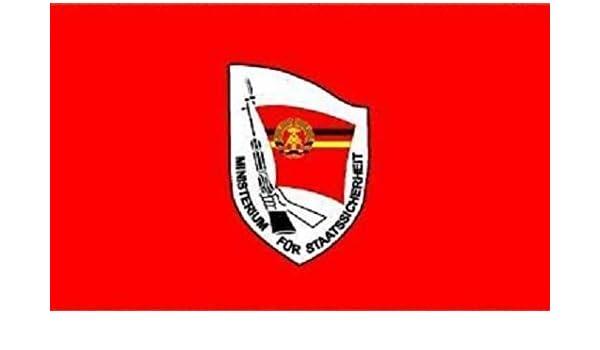 Fahne Flagge DDR Stasi Staatssicherheit 50 x 75 cm Bootsflagge Premiumqualität