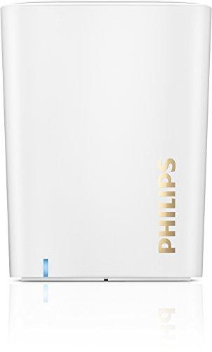 Philips BT100W portabler Bluetooth-Lautsprecher (2 Watt, Mikrofon) weiß (Für Lautsprecher Philip Iphone)