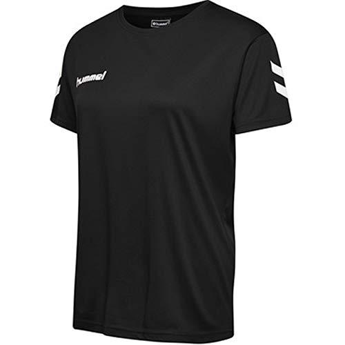 hummel Damen CORE Poly Tee Woman S/S T-Shirts, Schwarz, M