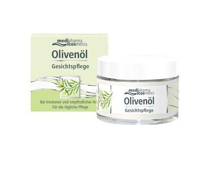 Olivenöl Gesichtspflege Spar-Set 2x50ml. Bei trockener und empfindlicher Haut. Für die tägliche...
