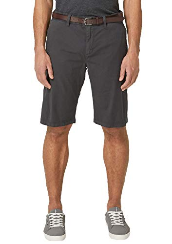 s.Oliver Big Size Herren 15.904.74.3701 Shorts, Grau (Ebony 9827), W(Herstellergröße: 42)