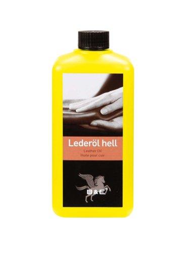 B & E Lederöl - hell - 500 ml (Leder Helles)