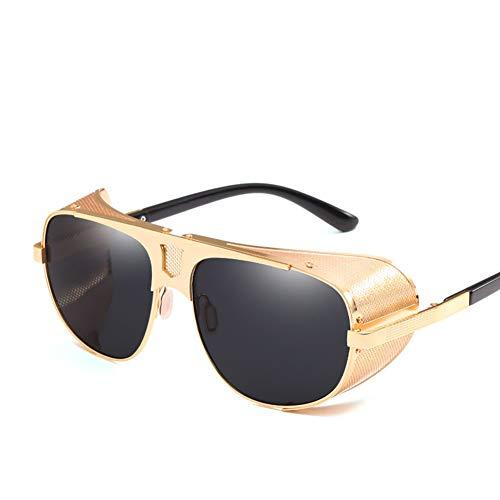 Männer und Frauen Metall Fahren Sonnenbrillen runden Rahmen Brille Farbfilm Sonnenbrille Sportbrille Angeln Golfbrille-colour3