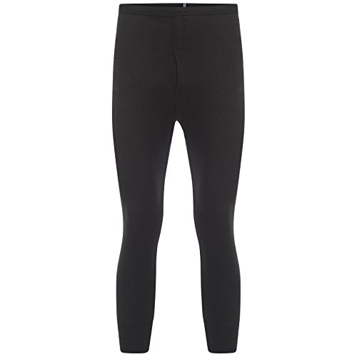 HMILYDYK Mens Winter Warm Long Johns Thermal Pants Soft Cotton Underwear Base Layer Bottoms Trousers Size L-XXXL