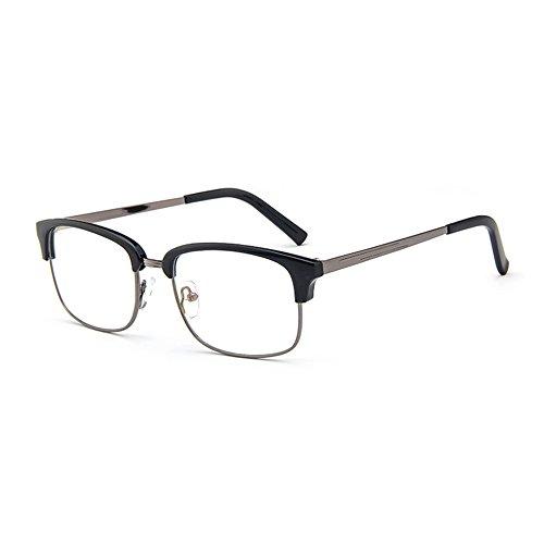 Forepin Brille Ohne Sehstärke reg; Nerd Klare Linse Brille Brillenfassung Durchsichtig Nerdbrille