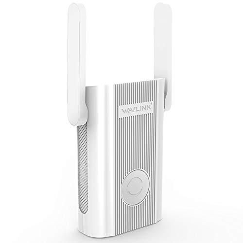 WAVLINK WLAN Verstärker WLAN Repeater Access Point(Dual-WLAN AC + N bis zu 866 MBit/s 5 GHz + 300 MBit/s 2,4 GHz)
