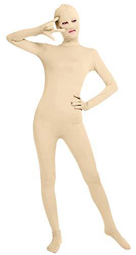Kostüm Anzüge Haut - Icegrey Ganzkörperanzug Anzug Zentai Suit Kostüm Bodysuit Erwachsene Haut L