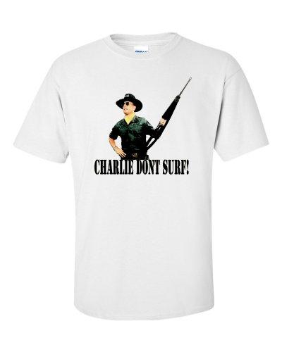 Charlie Dont Surf T-Shirt Weiß