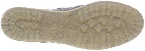 Shabbies Amsterdam Damen Shabbies Ankle Boot Espadrilles Blau (Denim)