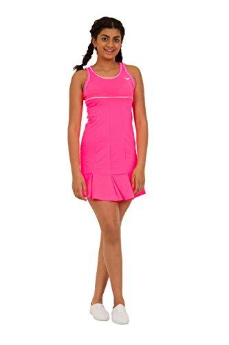Bace Mädchen Tenniskleid mit Unterhose, Pink, Mädchen, Rose, 8-9 Year Old Rose 8