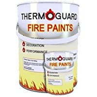 Thermoguard Wallcoat - Flame Retardant Fire Protection On Walls & Ceilings (100m² Pack)
