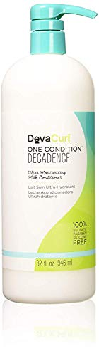 DevaCurl One Condition Decadence - acondicionadores (Mujeres, Curly hair, Hidratante, Suavizante, Botella, Chufa Milk: rich in vitamins and minerals to nourish, moisturize and revitalize hair, Apply a generous amount of conditioner to wet hair and use your fingers to gently detangle your curl)
