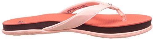 adidas Cloudfoam Ultra Y W, Infradito Donna Arancione ( Corsen/Granat/Corneb)