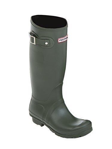 Ladies Womens Wellies Snow Rain Festival Wellington Boots Size UK 3, 4, 5, 6, 7, 8
