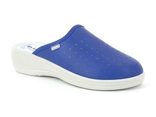 Ciabatta sanitaria donna in blu art. 40-33 - i colorati di in blu, colore jeans, taglia: 37