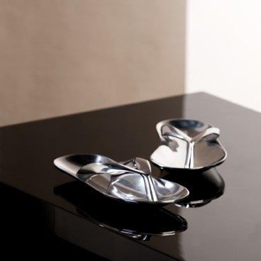Dekorative Alu Schale Sommerschuhe Sandale Ringablage Schmuck Ringe