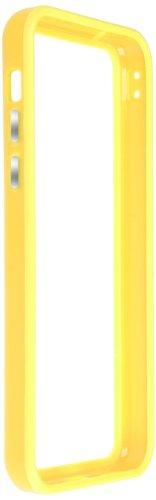 Horny Protectors iP5c-4012c TPU Silikon Schutzhülle für Apple iPhone 5c (nicht 5S) transparent/gelb Gelb chrome
