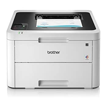 Brother HL-L3230CDW - Impresora láser color (WiFi, LED, USB 2.0, 256 MB, 800 MHz, 18 ppm, 390 W) blanco