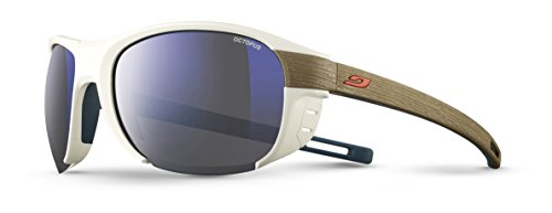 Julbo Regatta Sonnenbrille Unisex, Uni, Regatta, Blanc/Light Brown, one Size